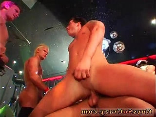 Gay piss and cum swallowing porn Our hip hop soiree dudes leave the