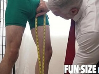 FunSizeBoys - Giant with monster cock fucks tiny boy butt bareback