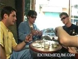 Gay gangbang hot brazilian guys multiple cumshots