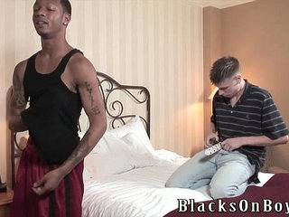 Dixson Tries To Handle A Big Black Cock