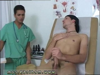 Men having check up with doctor and gay fetish doctor diaper