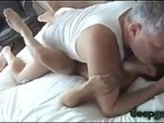 Two Daddies Ab use Their Shared Asia Boy