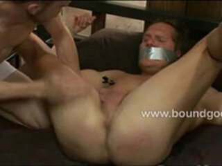 DJ and Riley squirm and scream in pleasure