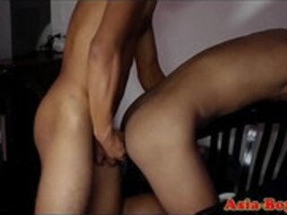 Skinny filipino amateurs love bareback