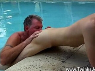 Gay jocks Daddy Brett obliges of course, after sharing some oral and