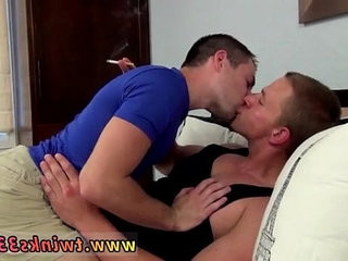 Fucked under the stall gay anal sex Both dudes love deep throat