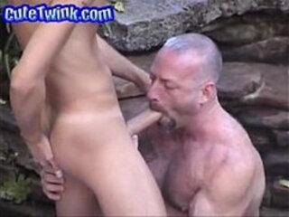 Dad Lets Young Boy Suck His Prick