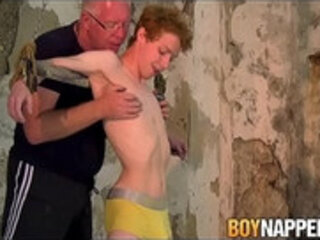 Tender Avery Monroe chained for whipping torment