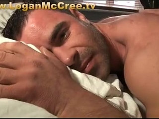 Logan satisfies his cock hungry friend