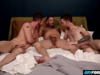 Drunked Stud Abused by Gay Best Friends Threesome