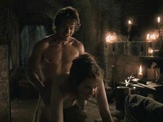 Esm Bianco   Alfie Allen - Game of Thrones, S1E5 Nude Sex Scene - HD