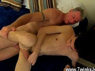 Young boy gay porn vid Daddy Brett obliges of course, after sharing