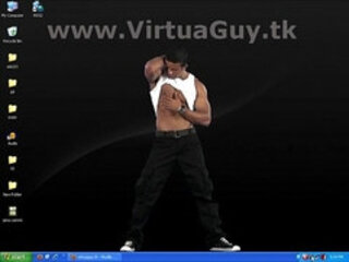 Oracio Masturbating Strip Dance