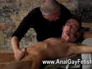 Hot gay sex British youngster Chad Chambers is his latest victim,
