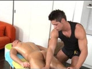 Wild homosexual spooning