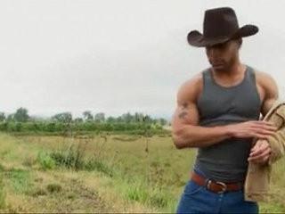 Alone Cowboy Fisherman