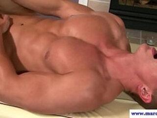 Straight dudes virgin butt fucked very hard