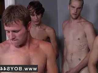 Facial gay For red hot fellow Landon nothing hammers a super hot