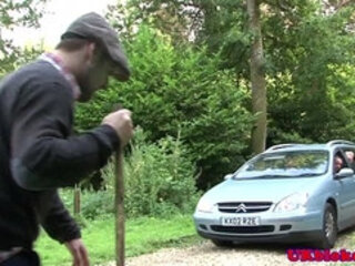 Englishman muscle in mansion pounding ass
